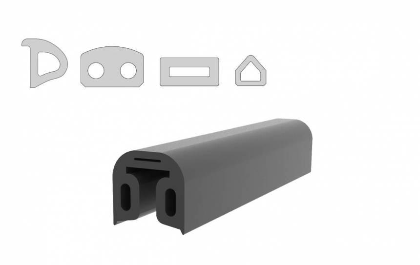 Bespoke rubber fender profiles