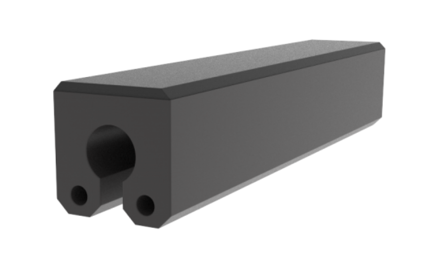 Fendertec marine fendering - Keyhole composite fender