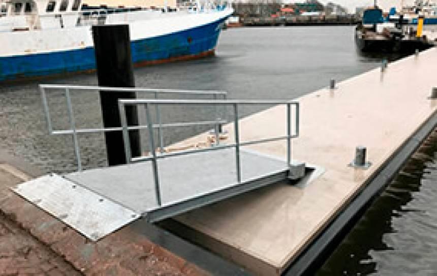markten ponton pier Fendertec