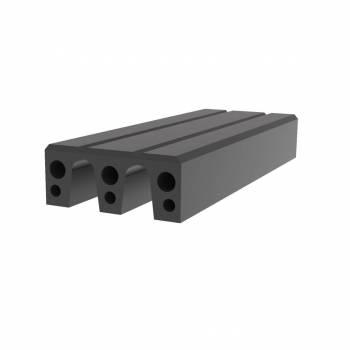 Fendertec marine fendering - Rubber Composiet M-fender blokken met UHMWPE Toplaag