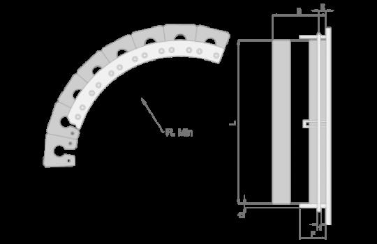 Sleutelgat mounting
