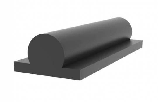 Fendertec marine fendering - Rubber omega fender solid
